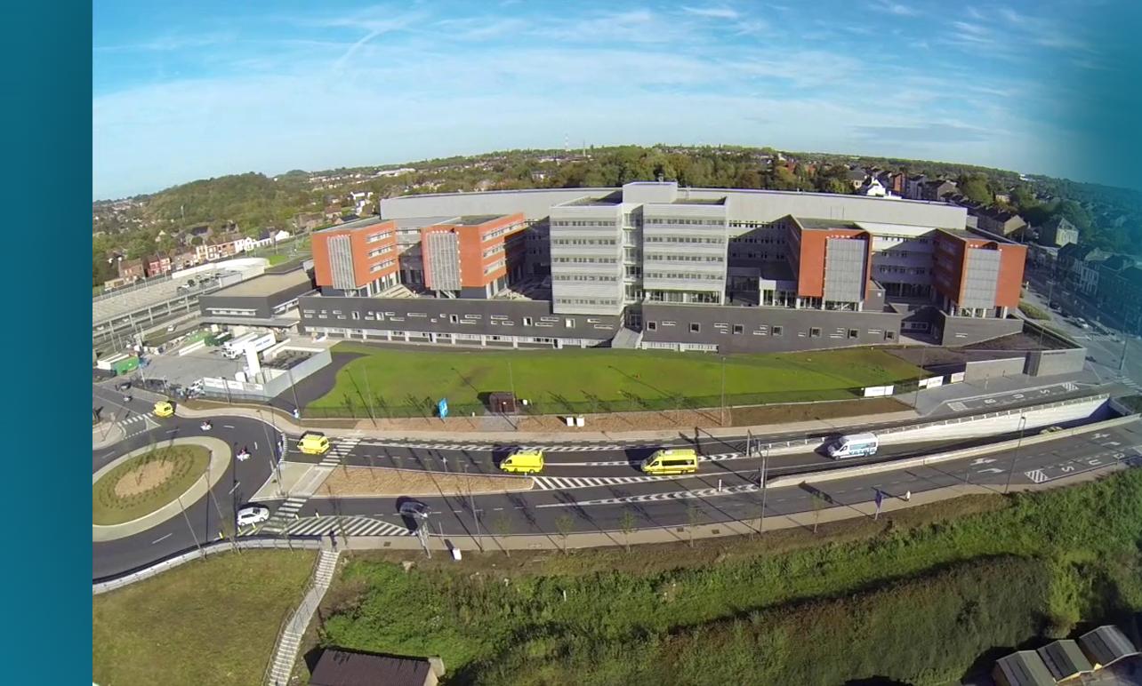 L'Hopital Marie Curie de Charleroi - Hervac - Climatisation - Traitement de l'air - Ventilation