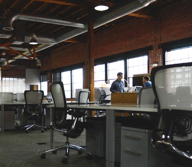 Les bureaux - la qualité de l'air irréprochable façon Hervac