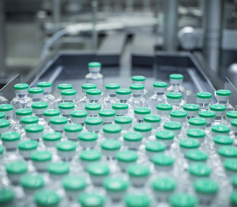 Le milieu pharmaceutique - qualité et précision de l'air façon Hervac